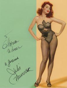 Julie Newmar Signed