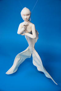 wall Doll with Posable Arms