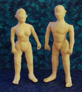 Mimi's Mannequins, Front View