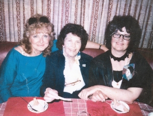 Gloria Winer, Judy Watters and elinor peace bailey