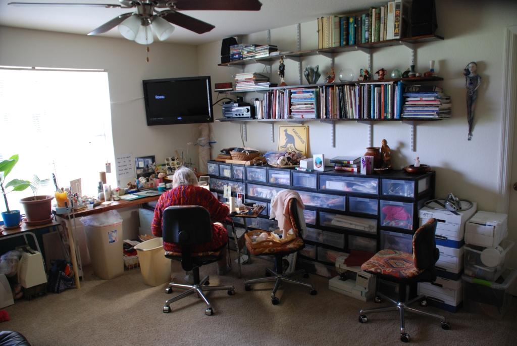 Mimi's New Studio